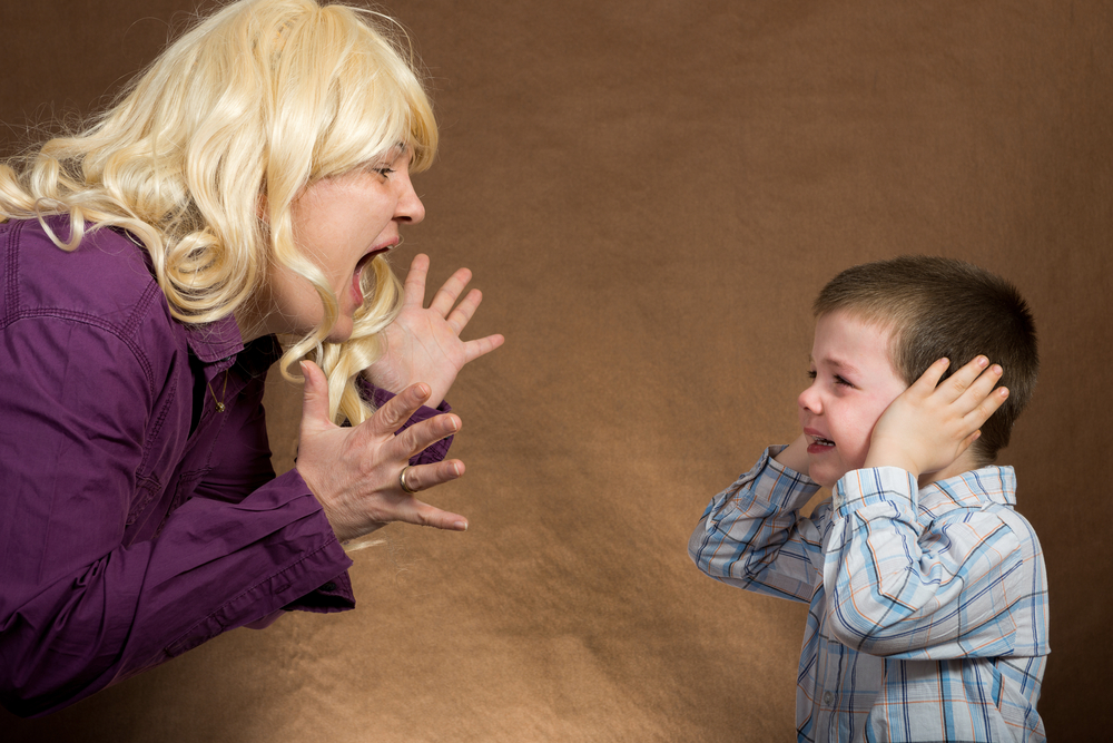 yelling at toddlers how they really react