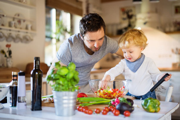 Enjoy Cooking with Your Preschoolers